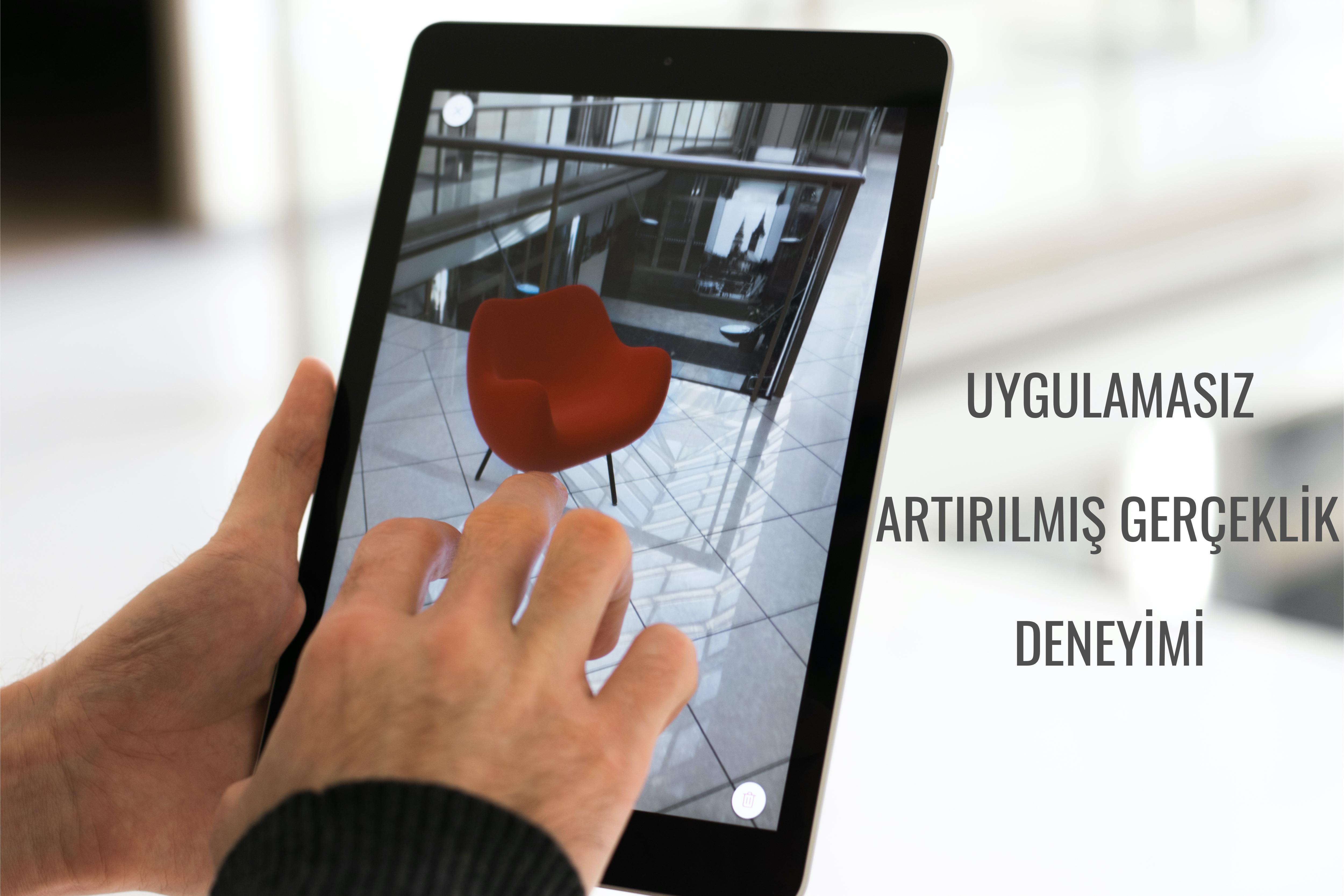 No app Required - Uygulamasız Artırılmış Gerçeklik Deneyimi